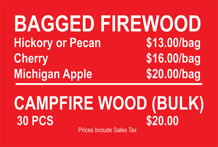 Firewood Prices August 2015